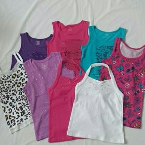 The Children's Place tank tops and one old navy